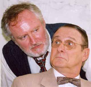Michael Costello as Dr. Reiter and Tom as Ernst gruber